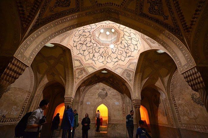 معماری ارگ کریم خان شیراز
