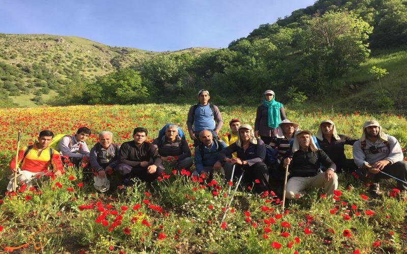طبیعت اطراف روستای نگل در بهار